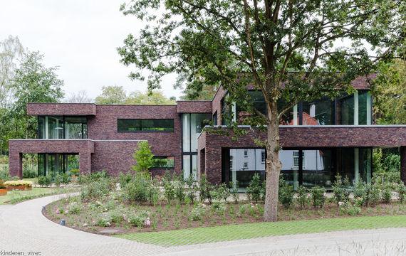 Het modelappartement in residentie Moorland te Waasmunster is afgewerkt.