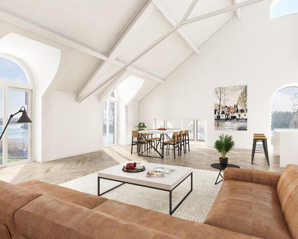 Uitzonderlijk appartement te koop in Hamme Moerzeke