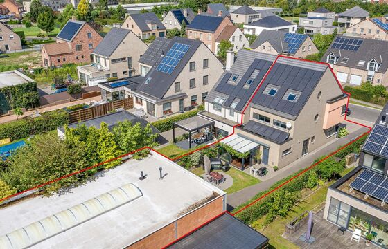 Buitengewoon huis te koop in Sint-Niklaas